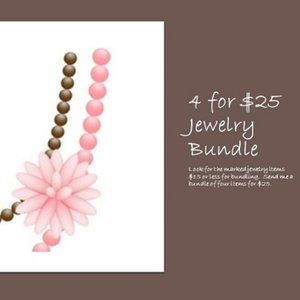 Bundle 4 for $25
